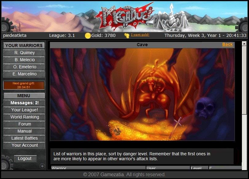 rpg browser games