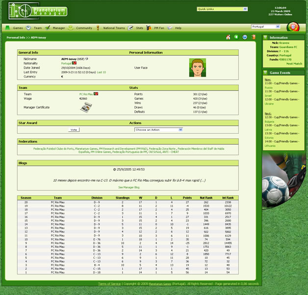 free online football manager games no login